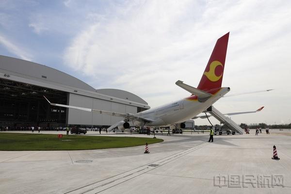 天津航空正式接收首架中欧合作完成空客a330飞机